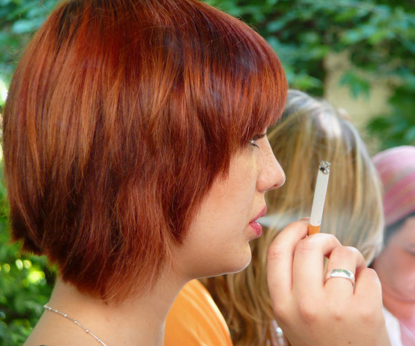 red head smoker 35 Striking Trendy Hairstyles