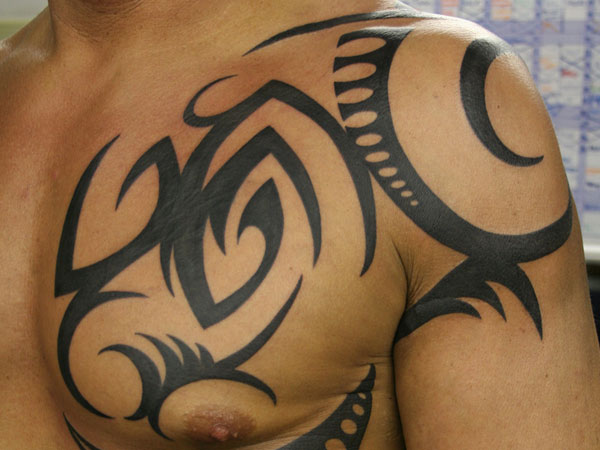 Sexy Tribal Tattoo