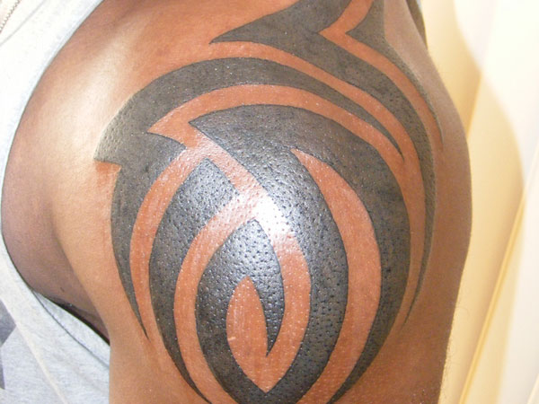 Tribal Design Tattoo