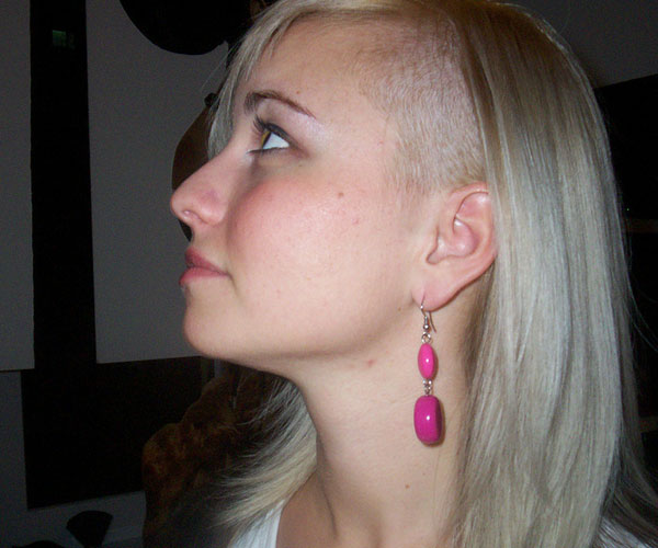 Pixie Haircut With Nape Shaved