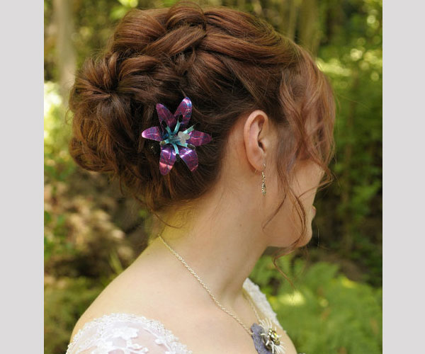lily hair piece 35 Drool Worthy Updos For Weddings