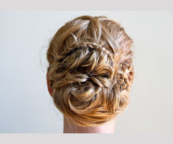 wedding bells 35 Drool Worthy Updos For Weddings