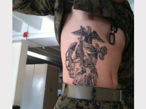 In Service Tattoo