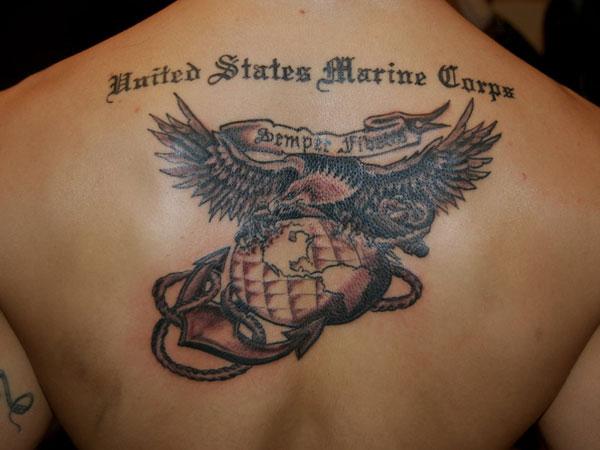 25 Overwhelming Usmc TattoosUsmc Tattoos Ideas
