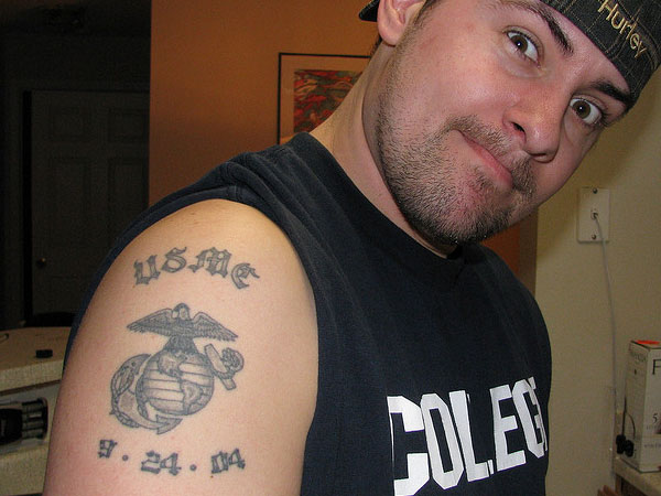 My USMC Tattoo