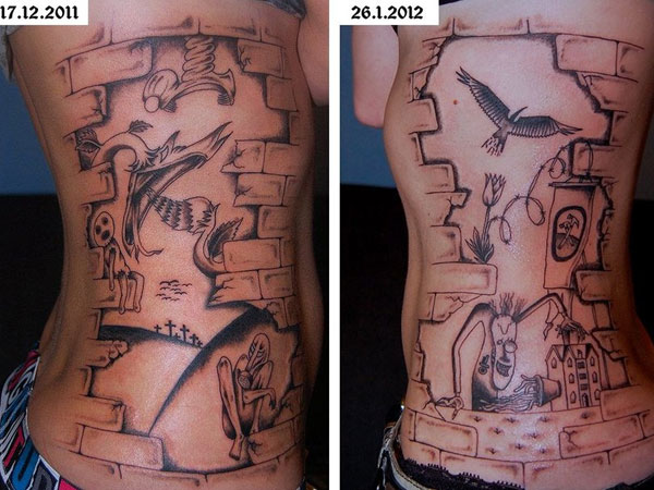 3c7fed0a898c3 Wall Tattoos - 35 Stunning Collections   Design Press