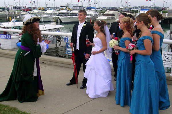 Pirate and Wedding Party