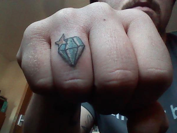 Sweet Wedding Ring Tattoo