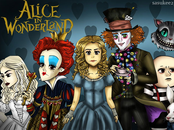 alice in wonderland movie wallpaper 25 Sweet Alice in Wonderland Pictures
