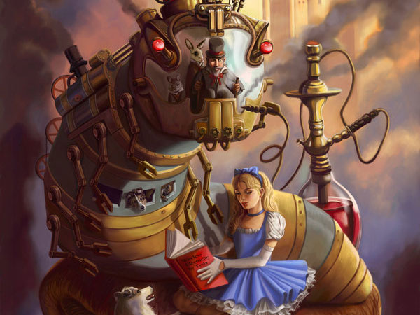 steam punk alice in wonderland 25 Sweet Alice in Wonderland Pictures