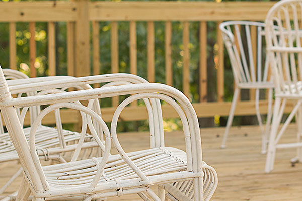 Backyard Cane Furniture