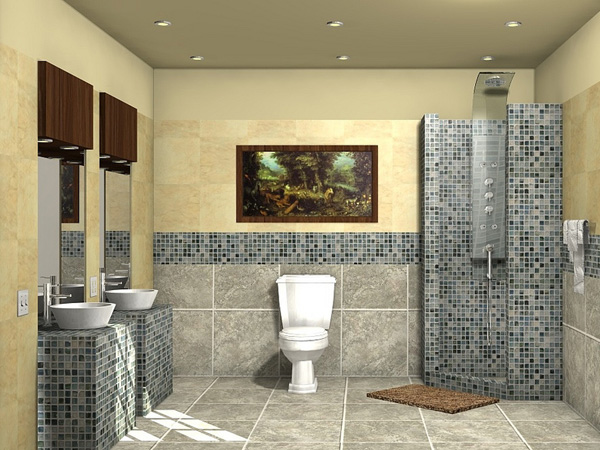 Designer Tiles Bathroom