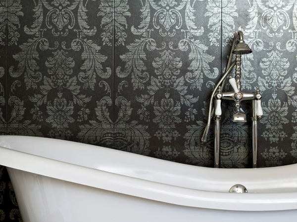 Superb Balance. 25 Splendid Bathroom Wallpaper Ideas   SloDive