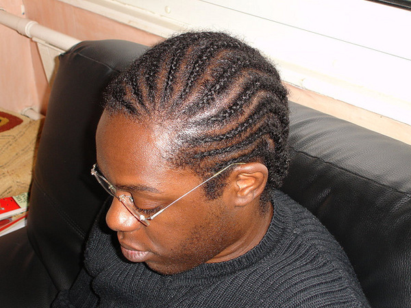 cornrows braided hairstyle 25 Charming Black Braided Hairstyles