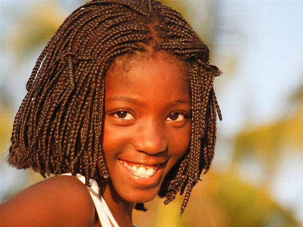 beautiful smile 25 Lovely Black Kids Hairstyles
