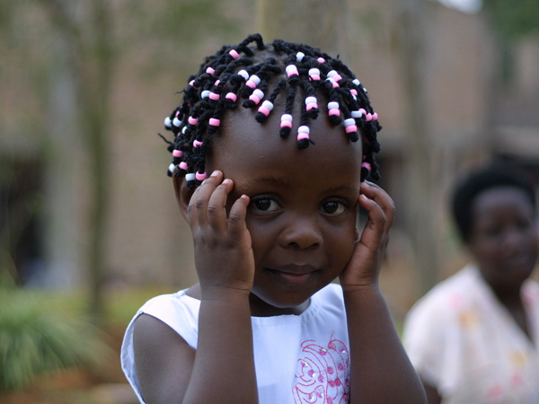 cute african kid 25 Lovely Black Kids Hairstyles