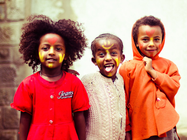 painted face kids 25 Lovely Black Kids Hairstyles