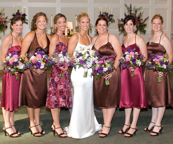 custom bridesmaids dresses 40 Gorgeous Bridesmaid Hairstyles