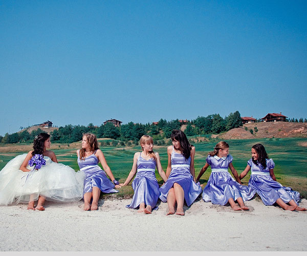 on the beach 40 Gorgeous Bridesmaid Hairstyles