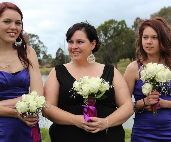 Happy  Bridesmaids