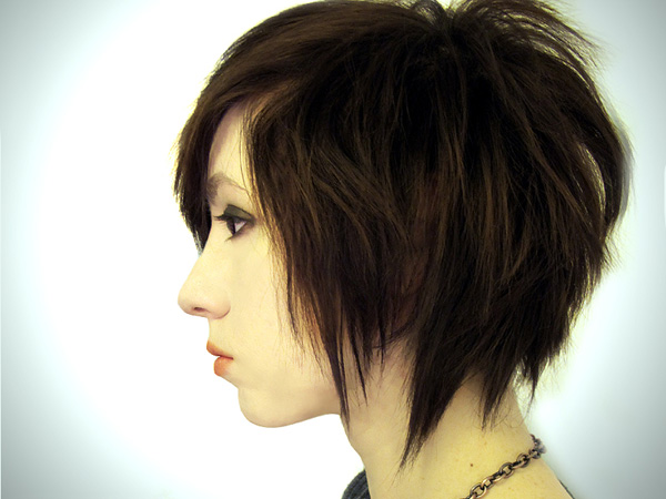 edgy choppy hairstyle 30 Tremendous Choppy Hairstyles