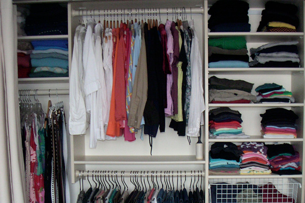 Closet with Variety