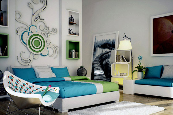 Contemporary Bedroom Patterns