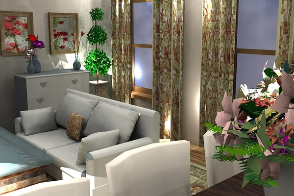 Lovely Small Living Room