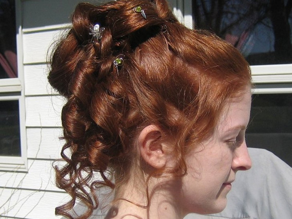 Party Curly Updo