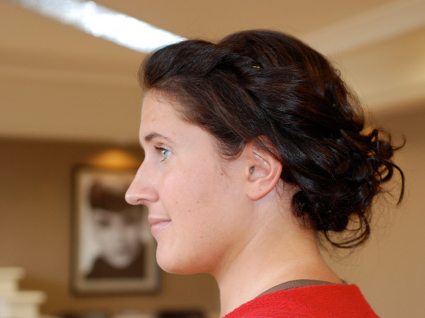 katie updo 25 Pretty Curly Updo Hairstyles