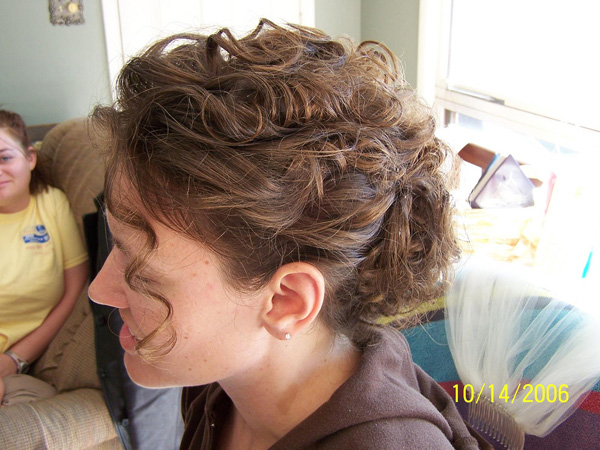 Prom Curly Updo