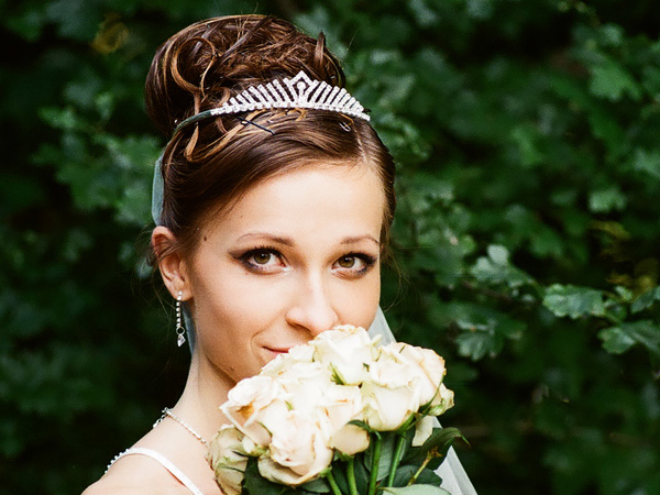 Wedding Curly Updo