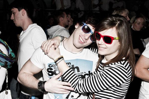 Cute Couple Goggles
