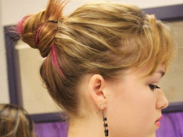 Prom Cute Offbeat Updo