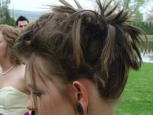 Short Layered Hair Extra Spiky Cute Hairstyle