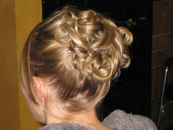 Cute Rose Updo
