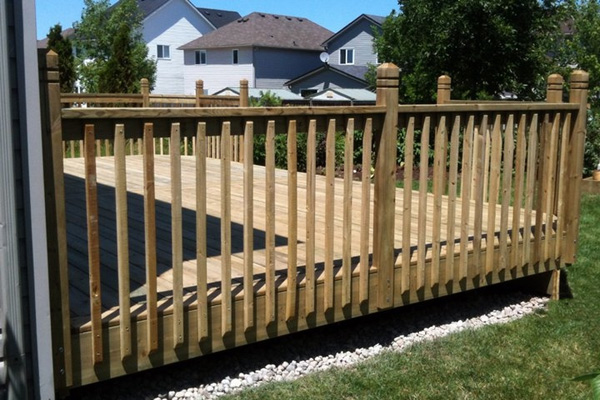 classic wood deck - Wood Deck Design Ideas
