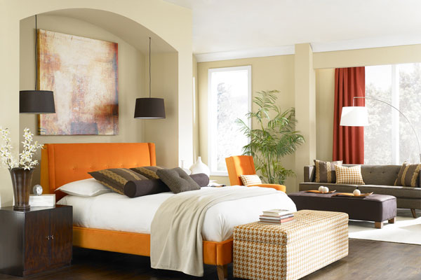Warm Touch Bedroom