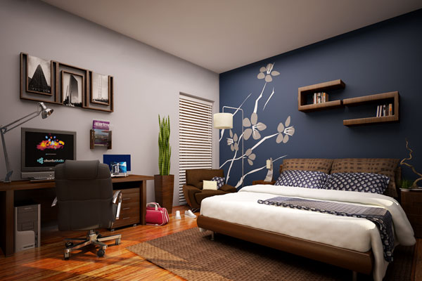 Pictures Of Bedrooms Painted 35 staggering decorating ideas for bedrooms - slodive