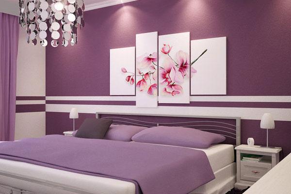 Decorating Lilac Bedroom