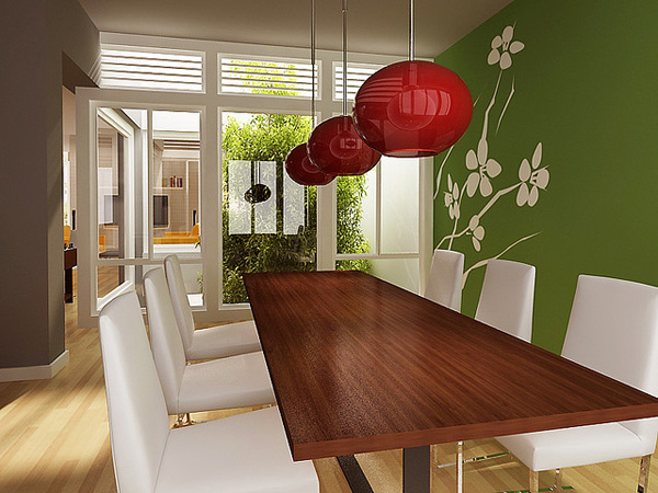 Japanese dining room decor