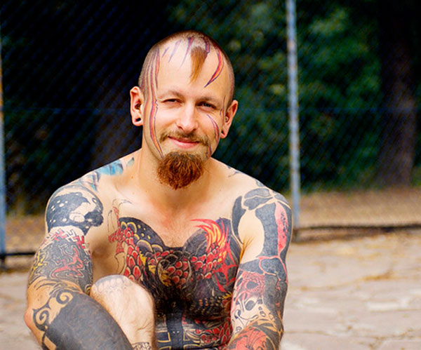 extreme colore tattoo 20 Superb Extreme Tattoos