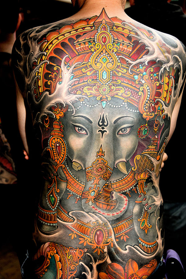 Indian Inspiration Tattoo