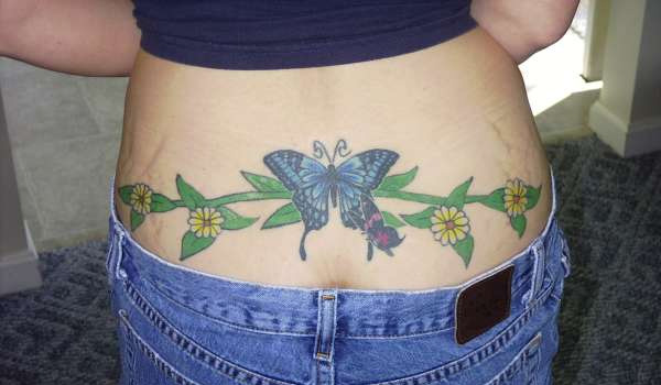 lower back tattoo 25 Helpful First Tattoo Ideas
