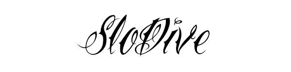 Narrow Tattoo Script