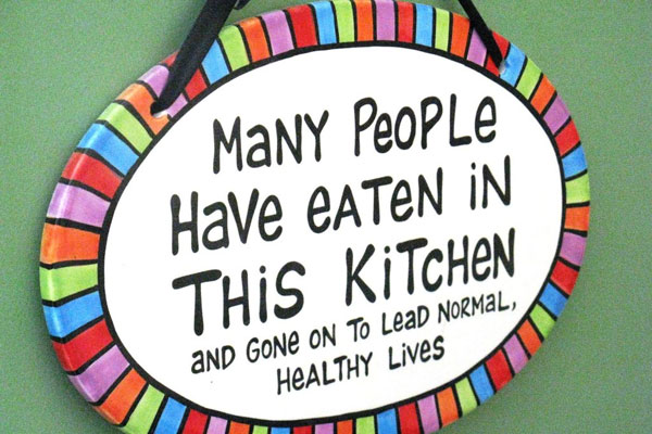 Kitchen Funny Notice