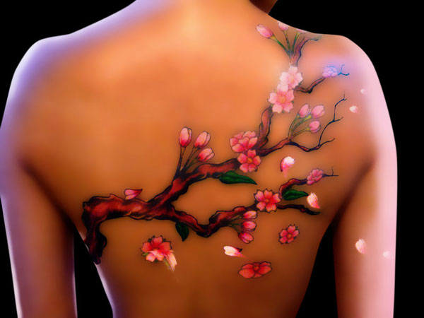 Cherry Blossoms Tattoo