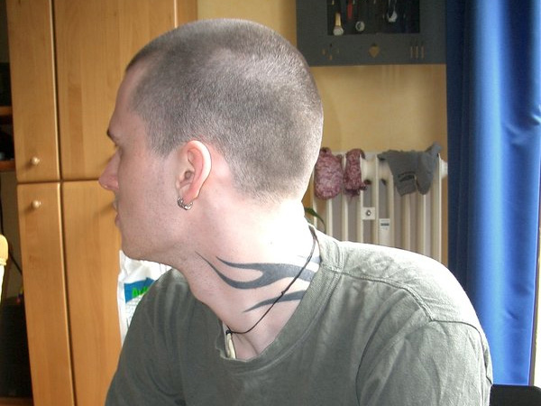bald hair tattooed 25 Awesome Hairstyles For Balding Men