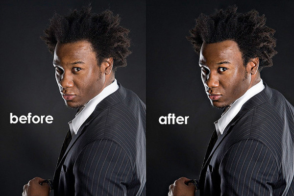 Black Male Model Hairstyle