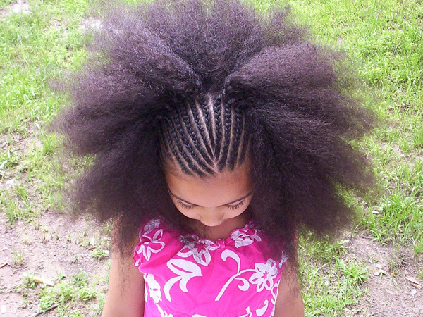 christmas little girl 25 Adorable Hairstyles For Little Black Girls